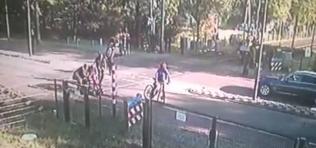 Alweer iemand van spoor gered in Vught, reddingsactie gefilmd