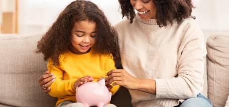 Met deze tips leer je jouw kinderen om hun zakgeld te sparen