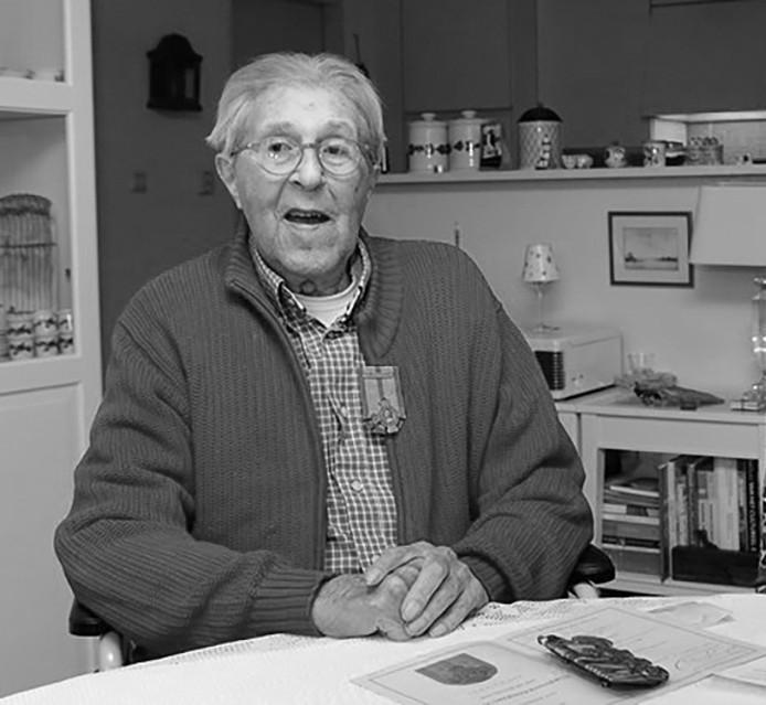 Jaap Hinderink overleed op 96-jarige leeftijd.