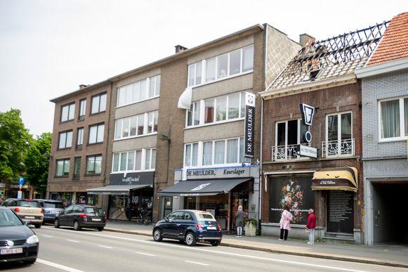 De winkel brandde twee jaar geleden volledig uit.