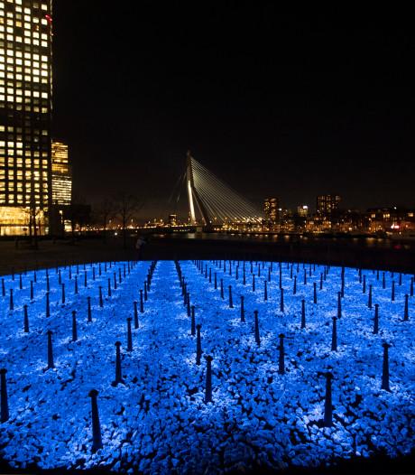 Op deze 22 locaties in Drenthe en Groningen kun je Levenslicht bekijken, het Holocaustmonument van Daan Roosegaarde