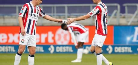 Jordens Peters is voorlopig geen basisspeler meer bij Willem II