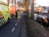 Auto in sloot beland in Deurne