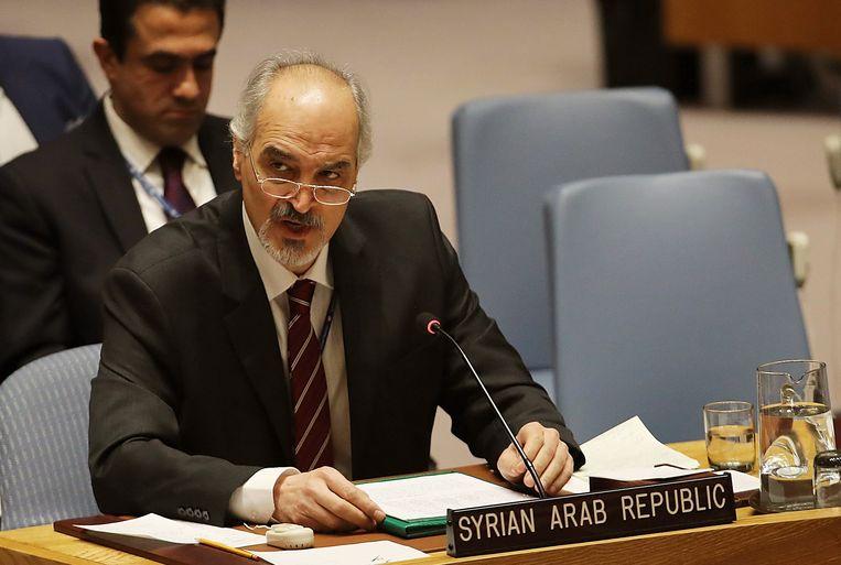 Bashar al-Jaafari, VN-ambassadeur voor Rusland.