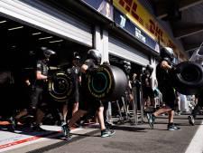 Formule 1 houdt in 2020 dezelfde banden