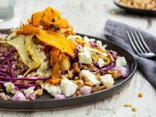 Wat Eten We Vandaag: Pompoensalade met feta en za'atar