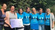 Dodentocht-stappers schenken Berrefonds 17.600 euro