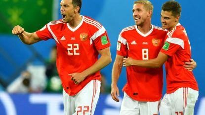 Gastland Rusland pakt zes op zes: ook Salah en co krijgen pak voor de broek
