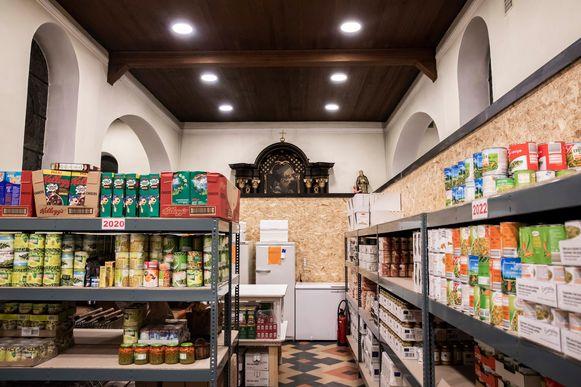 Deze week opende 't Vincentje op haar nieuwe locatie: de Sint-Lambertuskerk van Broekom.