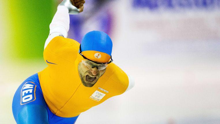 Erben Wennemars speelde een bijrol op de 1500 meter. Beeld anp