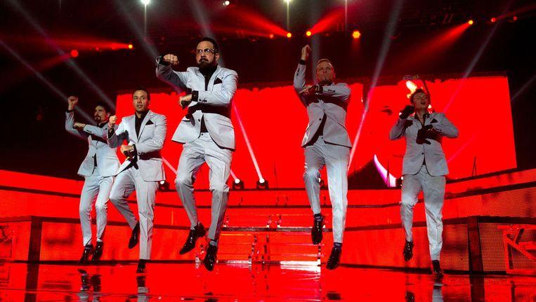 The best selling boyband in the world: de Backstreet Boys in de Heineken Music Hall Beeld Michel Utrecht