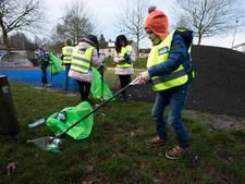 Ruim duizend leerlingen maken Apeldoorn schoner