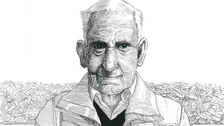 Volgens zijn geheime dagboeken woont Groen in een bejaardenhuis in Noord. Beeld Victor Meijer