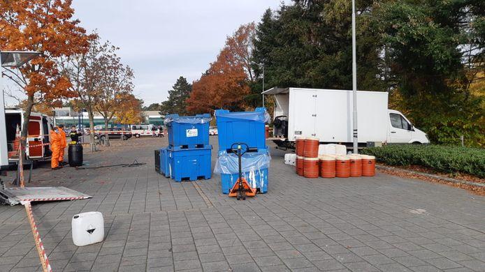Twee jaar geleden werd drugsafval gevonden op sportpark Den Dries in Valkenswaard.
