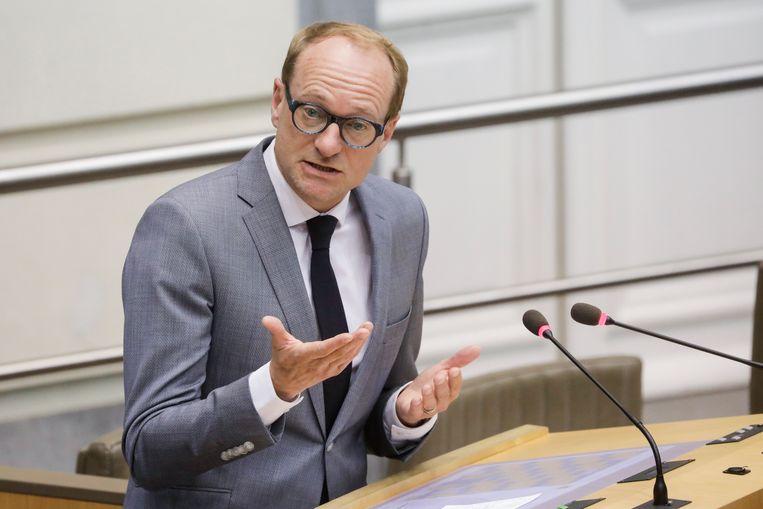 Minister Ben Weyts (N-VA).