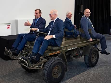 Heropening DAF Museum in Eindhoven. 'Hub en Wim hadden het prachtig gevonden'