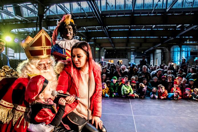 Sinterklaas in Tilburg.