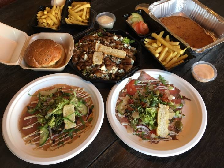 Restaurant De Veldpoort: noodrantsoen op een bordje van plezier