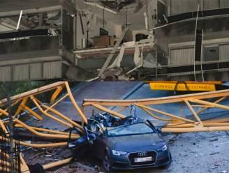 """IN BEELD. Zo groot is ravage in Nieuwpoort: """"Lijkt wel beschoten building uit de oorlog"""""""