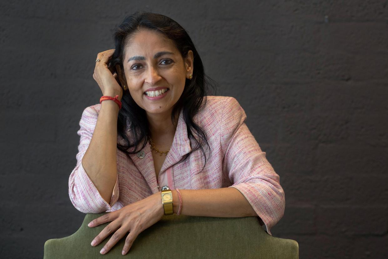Sharda Nandram, hoogleraar hindoe-spiritualiteit en samenleving aan de Vrije Universiteit Amsterdam.