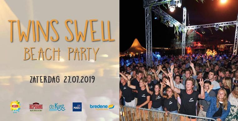 De Twins Swell Beach Party wordt eveneens afgelast na overleg met de organisatie.