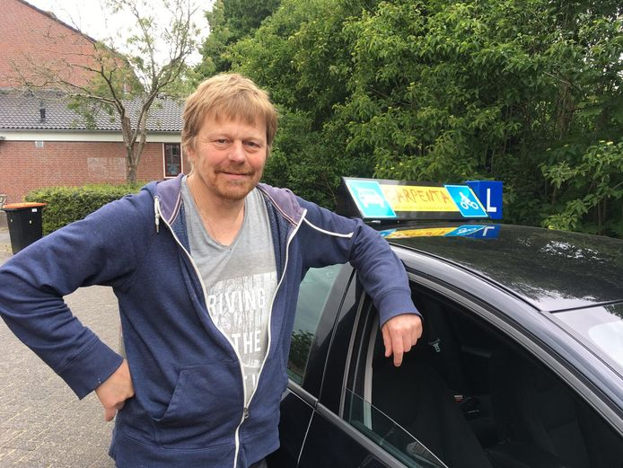 Rijschoolhouder Peter Luitjens uit Amersfoort.