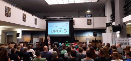 Millse infoshow over drugs valt goed bij de buren