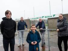 Clubliefde bij Groen Wit'62 stopt niet bij een gesloten poort voor Apeldoornse familie Wezenberg
