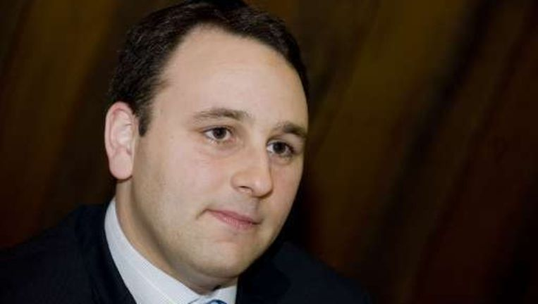 Michael Freilich, de hoofdredacteur van Joods Actueel