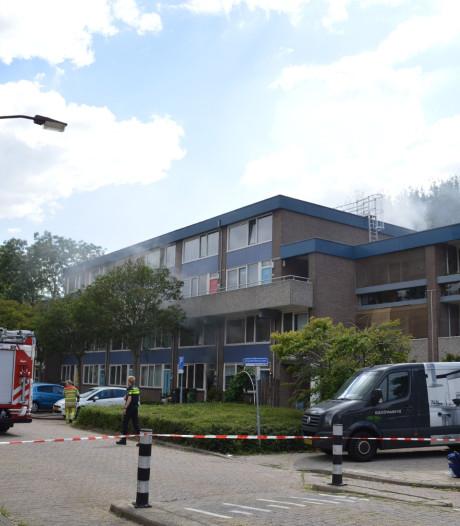 Nieuwegeinse woning volledig uitgebrand