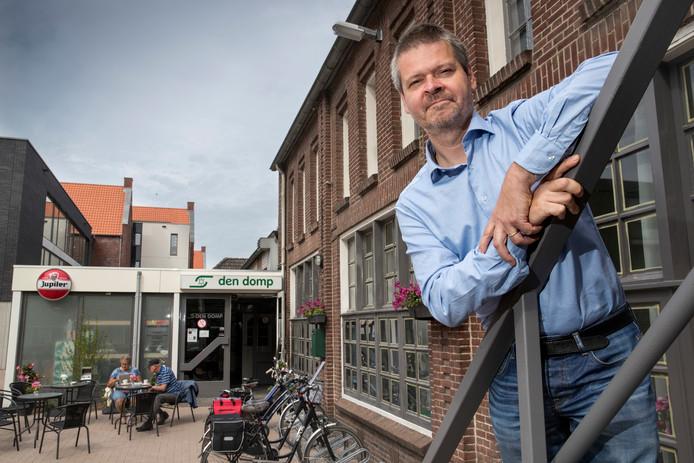 """Maarten van Dijck, voorzitter van Den Domp: ,,Wij willen zo snel mogelijk aan de slag""""."""