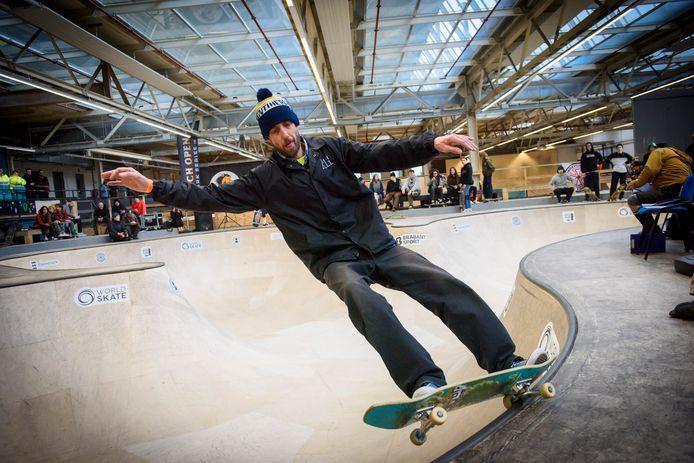 NK skateboarden in Area 51  (archieffoto).