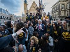 Voor even is 'The Lion King' op het Binnenhof