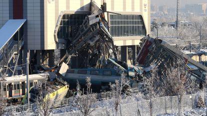 Zeker vier doden en 43 gewonden bij ongeluk met hogesnelheidstrein in Turkije