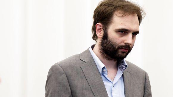 Kim De Gelder tijdens zijn proces in 2013.