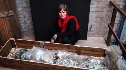 """Creatievelingen maken kunst uit afval: """"Tijd om iets te doen aan plasticsoep in rivieren"""""""
