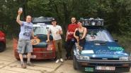 Zes weken reizen, andere culturen ontdekken en goede doelen steunen: Niels, Cyriel en Lucas beginnen aan Mongol Rally