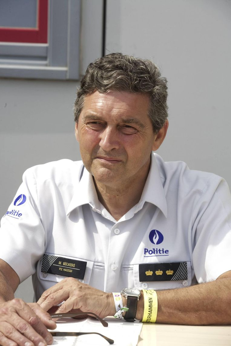 Michel Beckers, voormalig korpschef van de zone Hazodi.