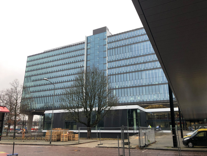 Het hoofdgebouw van de TU/e in Eindhoven.