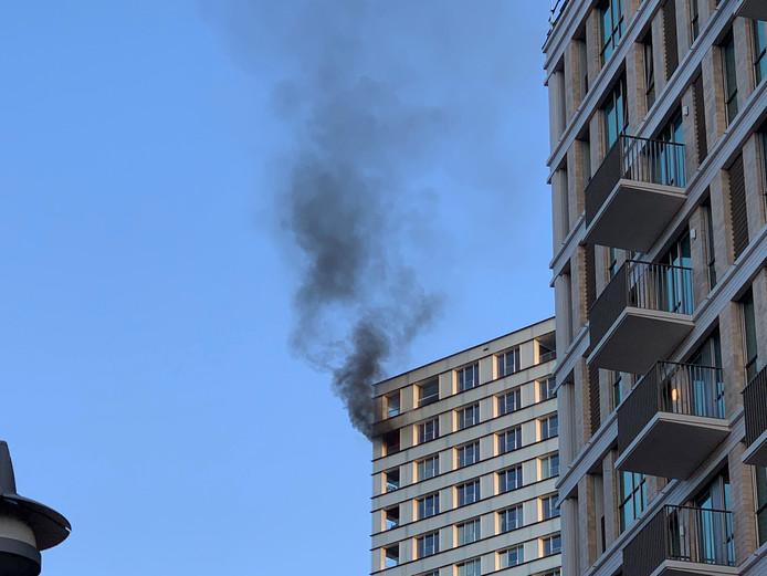 Brand in flat Den Bosch