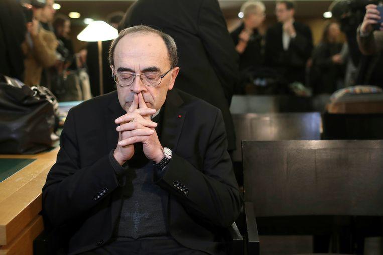 Kardinaal Philippe Barbarin, aartsbisschop van Lyon  Beeld AP