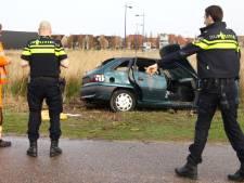 Gestolen en compleet vernielde auto gevonden in Vathorst