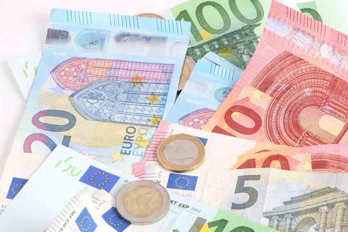 money geld euro stock