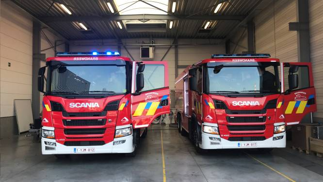 Brandweerzone investeert 600.000 euro in tankwagens voor Ronse en Kruisem