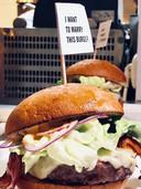 Hamburger van Robert Kranenborgs Trhill Grill.