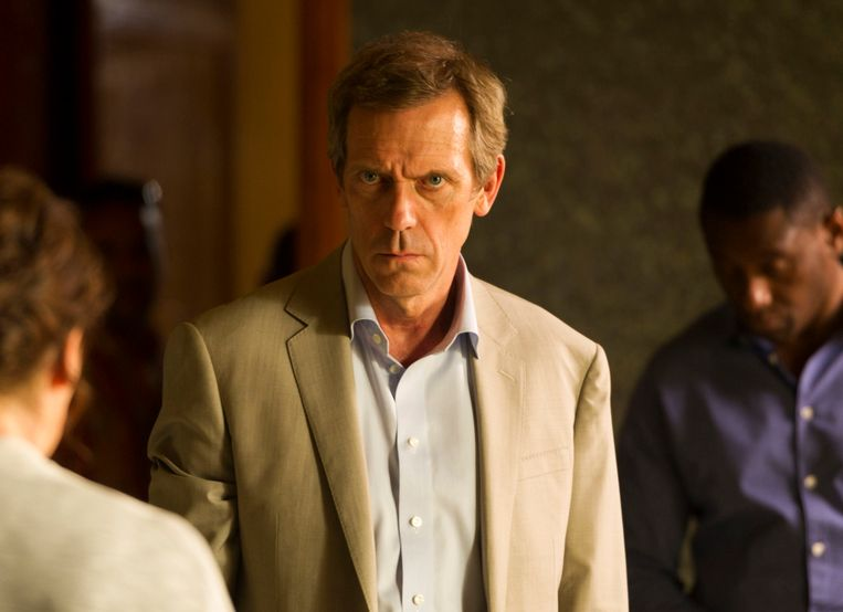 Hugh Laurie in 'The Night Manager'.