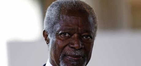 Voormalig VN-baas Kofi Annan (80) overleden na kort ziekbed