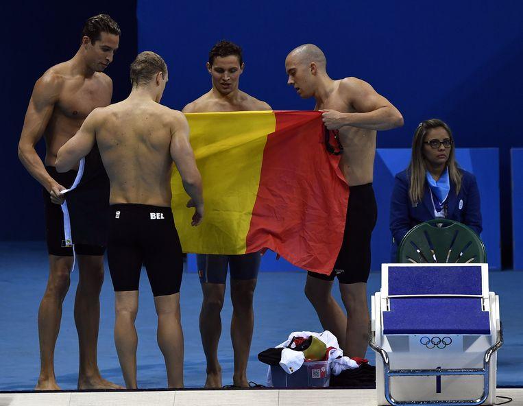 Onze zwemboys in Rio