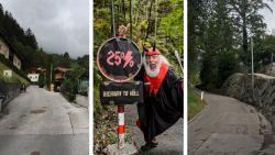 De Gramartboden: op deze steile muur wordt volgende zondag het WK in Innsbruck beslist