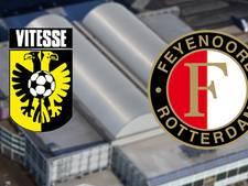 Lastige uitwedstrijd voor koploper Feyenoord